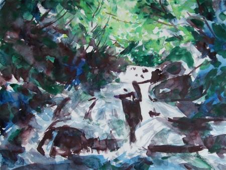 The Asamauodome Waterfall No.1