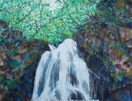 The waterfall Asama otaki No.1