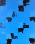 Black and Blue Paintings on December 24,2020