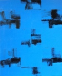 Black and Blue Paintings on December 31,2020
