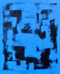Untitled 2021 No.2 ーfrom the series Black and BluePaintingsー