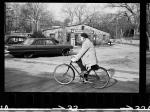 """""""Willem de Kooning Biking Near Barnes Country Store in East Hampton,1968."""""""